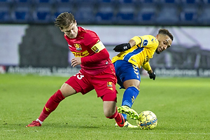 Hany Mukhtar (Br�ndby IF), Uidentificeret person (FC Nordsj�lland)