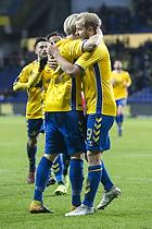 Teemu Pukki (Br�ndby IF), Johan Larsson (Br�ndby IF)