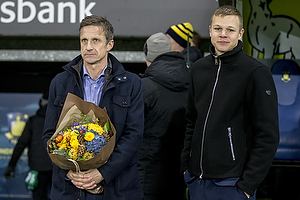 Troels Bech, sportsdirekt�r (Br�ndby IF), Mads Juel Andersen (Br�ndby IF)