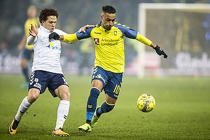 Hany Mukhtar (Br�ndby IF), Mustafa Amini (Agf)
