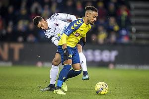 Hany Mukhtar (Br�ndby IF), Tobias Sana (Agf)