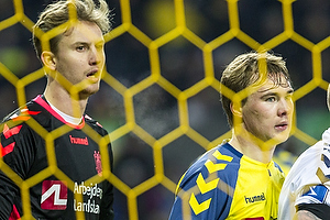 Frederik R�nnow (Br�ndby IF), Simon Tibbling (Br�ndby IF), Martin Spelmann, m�lscorer (Agf)