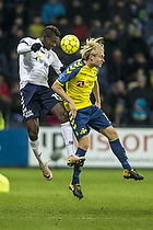 Mustapha Bundu (Agf), Johan Larsson (Br�ndby IF)