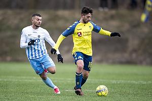 Besar Halimi (Br�ndby IF), Valon Ljuti (FC Roskilde)
