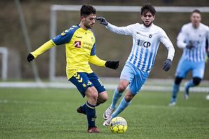 Besar Halimi (Br�ndby IF), Mathias Gehrt (FC Roskilde)