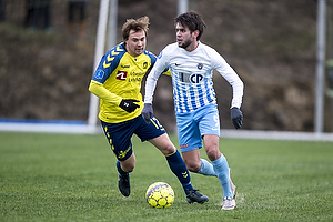 Simon Tibbling (Br�ndby IF), Mathias Gehrt (FC Roskilde)