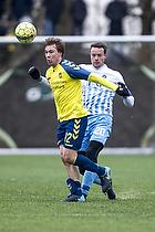 Simon Tibbling (Br�ndby IF), Stefan Hansen (FC Roskilde)