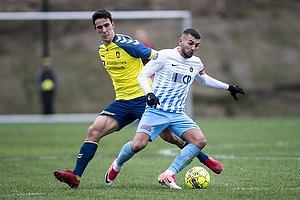 Filip Blazek (Br�ndby IF), Valon Ljuti (FC Roskilde)