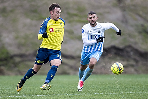 Lasse Vigen Christensen (Br�ndby IF), Valon Ljuti (FC Roskilde)