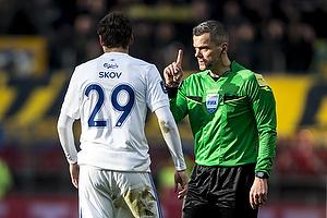 Robert Skov (FC K�benhavn), Michael Tykgaard, dommer