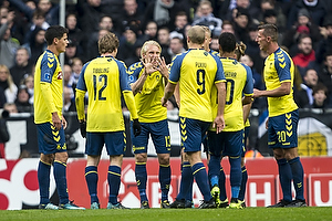 Christian N�rgaard (Br�ndby IF), Simon Tibbling (Br�ndby IF), Johan Larsson, anf�rer (Br�ndby IF), Teemu Pukki (Br�ndby IF)