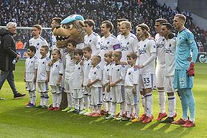 FC K�benhavn startopstilling