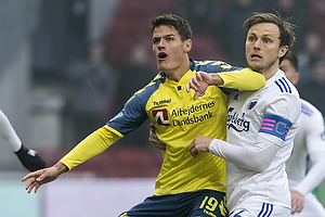Christian N�rgaard (Br�ndby IF), William Kvist, anf�rer (FC K�benhavn)