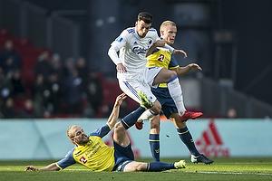 Zeca (FC K�benhavn), Hj�rtur Hermannsson (Br�ndby IF), Kasper Fisker (Br�ndby IF)