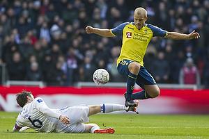 William Kvist, anf�rer (FC K�benhavn), Teemu Pukki (Br�ndby IF)