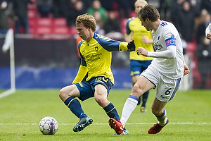 Simon Tibbling (Br�ndby IF), William Kvist, anf�rer (FC K�benhavn)