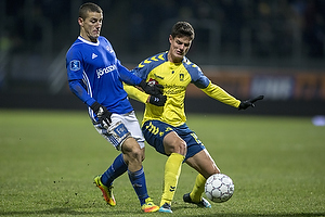 Uidentificeret person (Lyngby BK), Christian N�rgaard (Br�ndby IF)