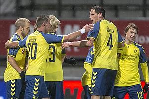 Kamil Wilczek, m�lscorer (Br�ndby IF), Benedikt R�cker (Br�ndby IF)