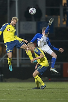 Paulus Arajuuri (Br�ndby IF), Uidentificeret person (Lyngby BK), Morten Frendrup (Br�ndby IF)