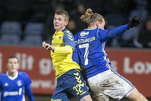 Morten Frendrup (Br�ndby IF), Jesper Christjansen (Lyngby BK)