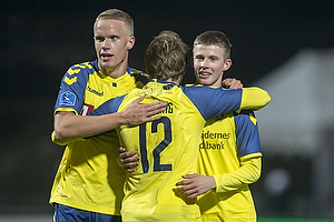 Simon Tibbling (Br�ndby IF), Morten Frendrup (Br�ndby IF), Hj�rtur Hermannsson (Br�ndby IF)