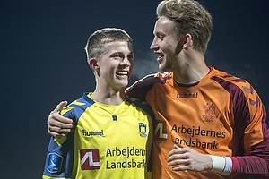 Morten Frendrup (Br�ndby IF), Frederik R�nnow (Br�ndby IF)