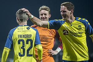 Morten Frendrup (Br�ndby IF), Benedikt R�cker (Br�ndby IF)