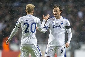 Nicolai Boilesen (FC K�benhavn), William Kvist (FC K�benhavn)