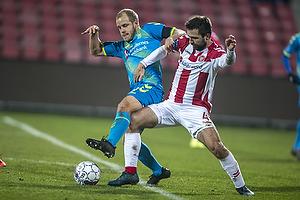 Teemu Pukki (Br�ndby IF), Jakob Bl�bjerg (Aab)