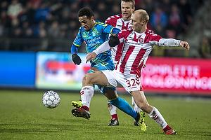 Hany Mukhtar (Br�ndby IF), Kasper Pedersen (Aab)