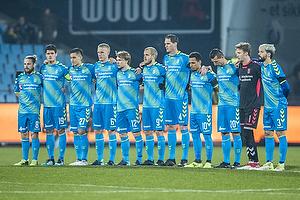 Kasper Fisker (Br�ndby IF), Christian N�rgaard (Br�ndby IF), Svenn Crone (Br�ndby IF), Hj�rtur Hermannsson (Br�ndby IF), Simon Tibbling (Br�ndby IF), Teemu Pukki (Br�ndby IF), Benedikt R�cker (Br�ndby IF), Hany Mukhtar (Br�ndby IF), Kamil Wilczek (Br�ndby IF), Frederik R�nnow (Br�ndby IF), Anthony Jung (Br�ndby IF)