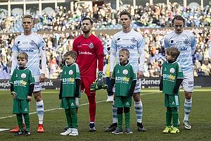 S�ren Henriksen (FC Helsing�r), Aris Vaporakis (FC Helsing�r)