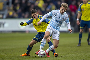 Christian N�rgaard (Br�ndby IF), Anders Holst (FC Helsing�r)