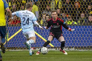 Frederik R�nnow (Br�ndby IF), Tobias Christensen (FC Helsing�r)