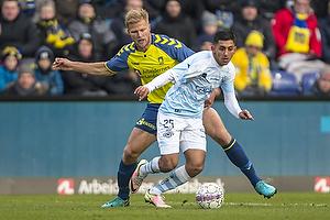 Benedikt R�cker (Br�ndby IF), Adnan Mohammad (FC Helsing�r)