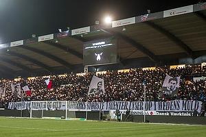 FCM-fans med tifo