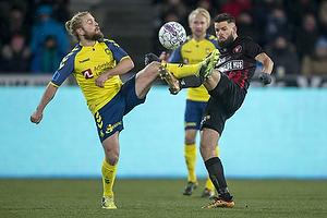 Kasper Fisker (Br�ndby IF), Uidentificeret person (FC Midtjylland)