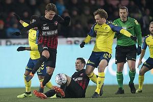 Kaan Kairinen (FC Midtjylland), Simon Tibbling (Br�ndby IF)
