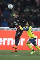 Jakob Poulsen, anf�rer (FC Midtjylland), Hany Mukhtar (Br�ndby IF)