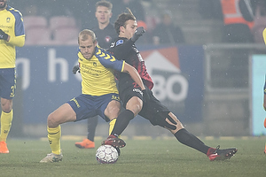 Teemu Pukki (Br�ndby IF), Erik Sviatchenko (FC Midtjylland)