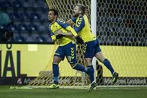 Hany Mukhtar, m�lscorer (Br�ndby IF), Kasper Fisker (Br�ndby IF)