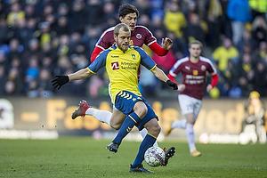 Teemu Pukki (Br�ndby IF), Rasmus Minor Petersen (Hobro IK)