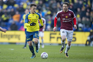 Lasse Vigen Christensen (Br�ndby IF), P�l Alexander Kirkevold (Hobro IK)