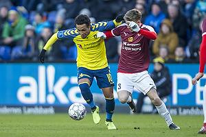 Hany Mukhtar (Br�ndby IF), Jesper B�ge (Hobro IK)