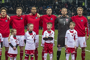 Thomas Delaney (Danmark), William Kvist J�rgensen (Danmark), Mathias Zanka J�rgensen (Danmark), Henrik Dalsgaard (Danmark), Kasper Schmeichel (Danmark), Simon Kj�r (Danmark)