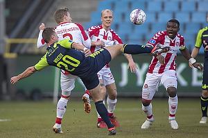 Kamil Wilczek (Br�ndby IF), Patrick Kristensen (Aab)