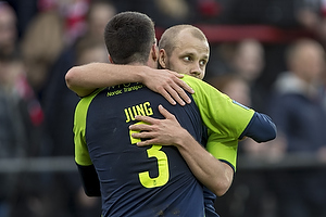 Teemu Pukki, m�lscorer (Br�ndby IF), Anthony Jung (Br�ndby IF)