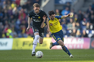 Uidentificeret person (AC Horsens), Besar Halimi (Br�ndby IF)