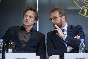 Troels Bech, sportsdirekt�r (Br�ndby IF), Ole Palm�, direkt�r (Br�ndby IF)