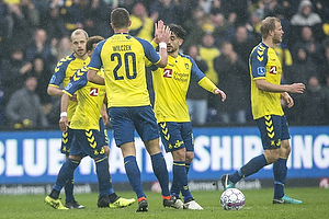 Besar Halimi (Br�ndby IF), Nicolai Boilesen (FC K�benhavn)